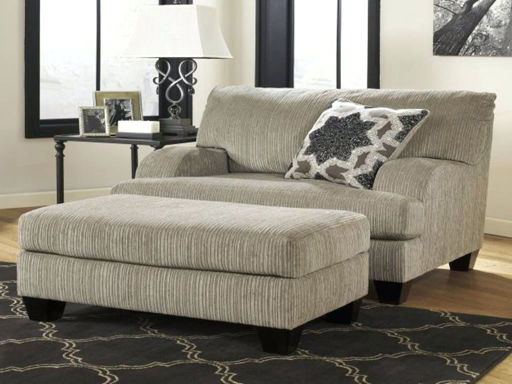 Chairs With A Half Chaise Inside Most Recently Released Chaise Lounge Chair With Ottoman • Lounge Chairs Ideas (View 1 of 15)