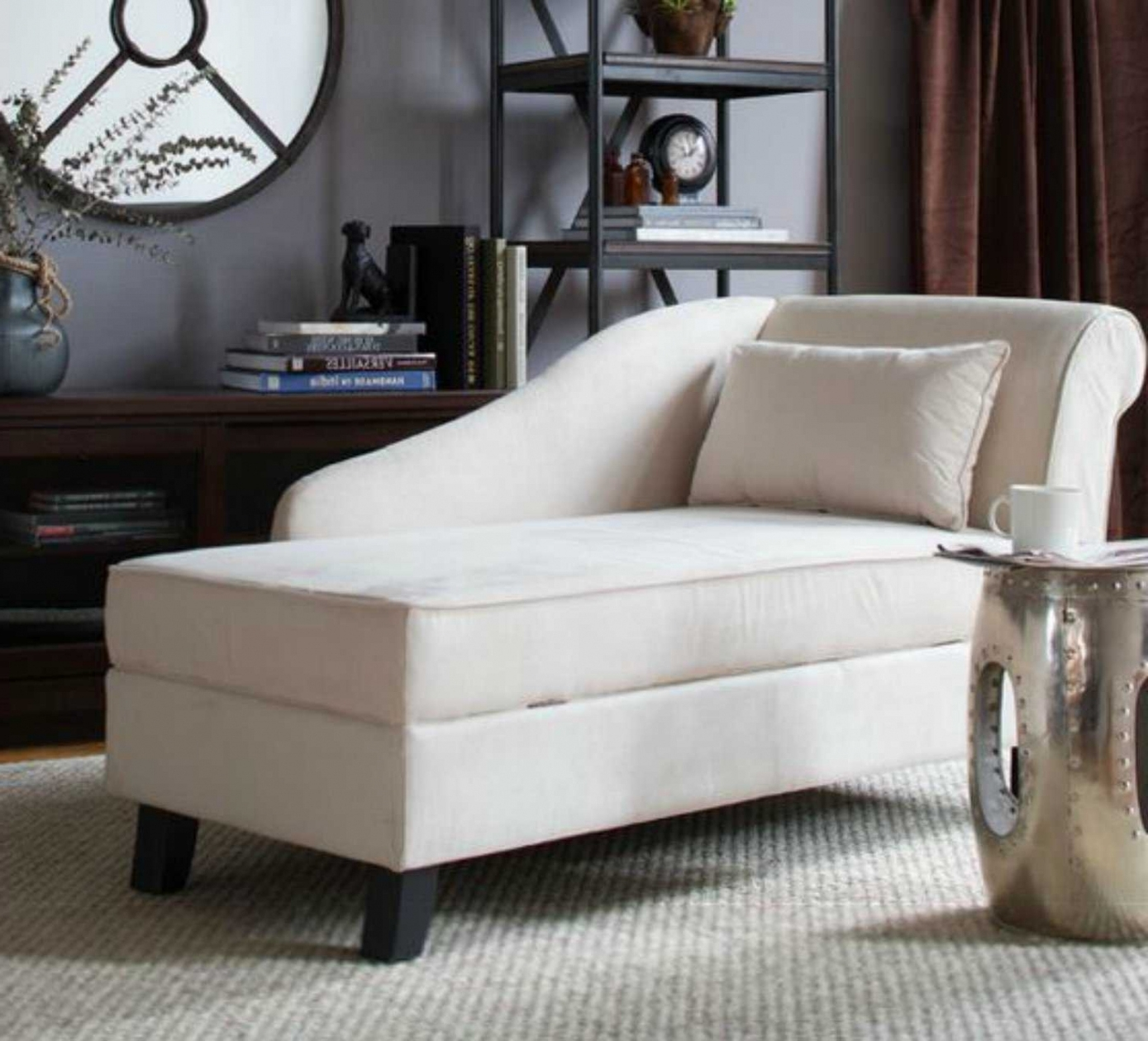 Chaise Chairs For Living Room Intended For Most Recently Released Modern Chaise Lounge Chairs Living Room – Interior Paint Colors (View 2 of 15)