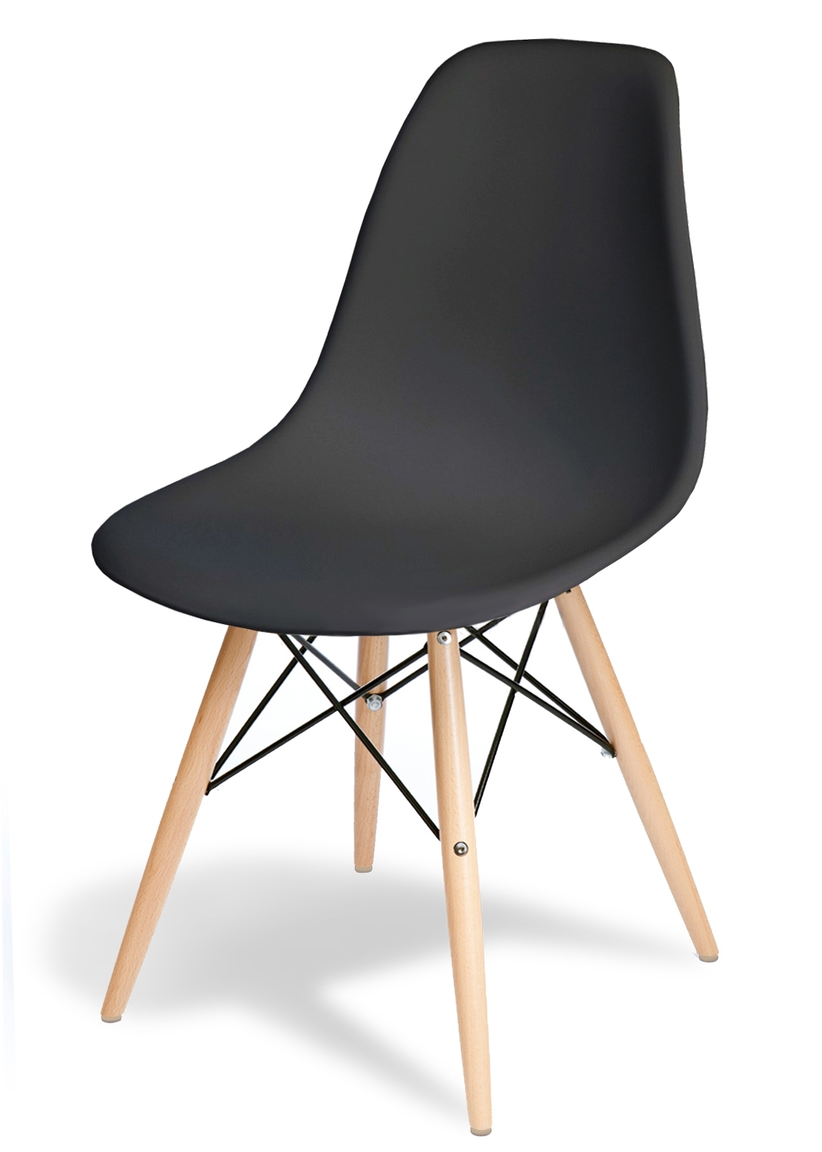 "Chaise Eames Dsw Style ""new Edition"" – Meubles Design – Chaises Design Intended For 2017 Eames La Chaises (View 2 of 15)"