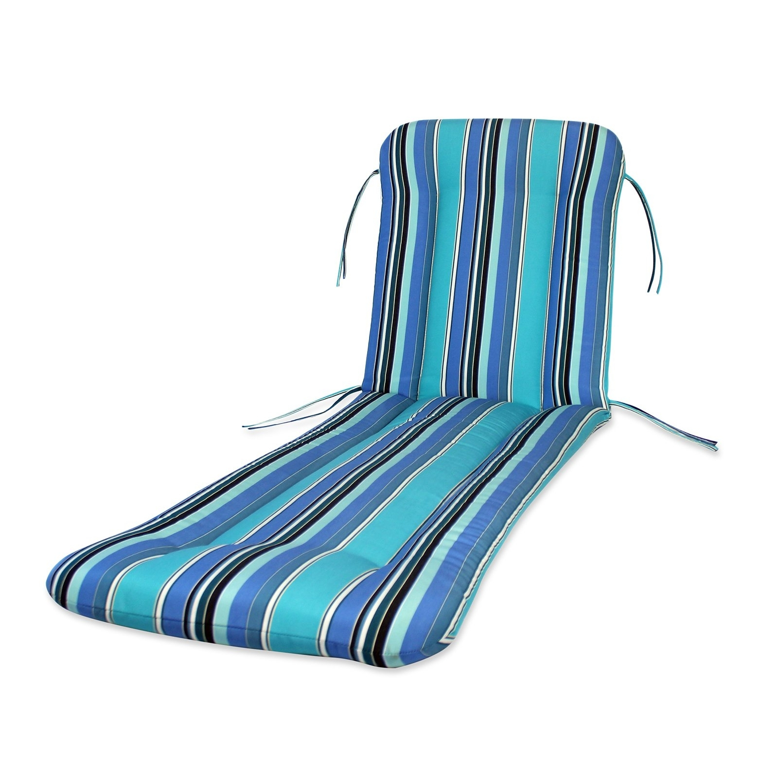 Chaise Lounge Chair Cushions Regarding 2018 Comfort Classics Sunbrella Chaise Lounge Cushion – Walmart (View 3 of 15)