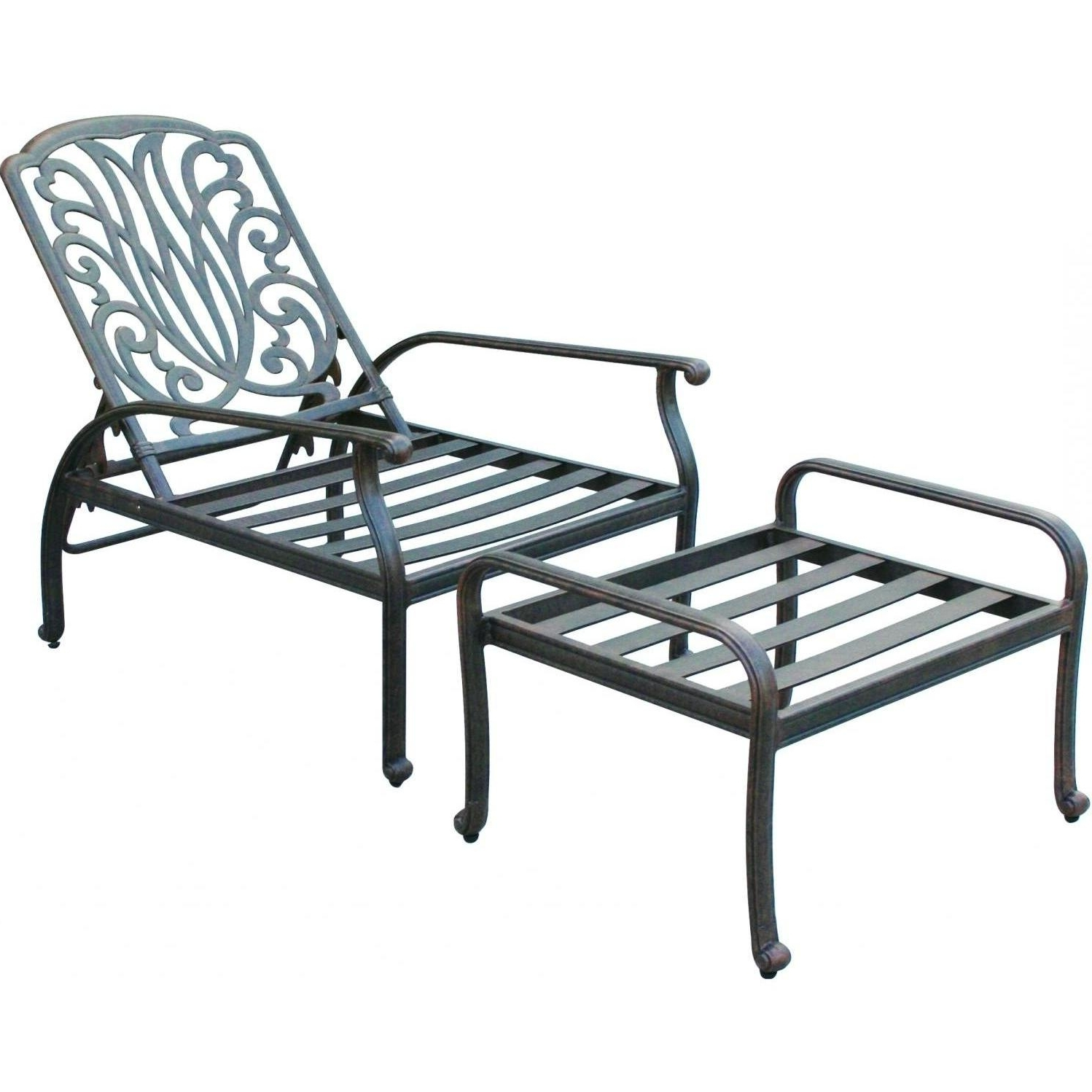 Chaise Lounge Chairs For Backyard Regarding Best And Newest Convertible Chair : Chairs Sale Double Lawn Chair Patio Chaise (View 5 of 15)
