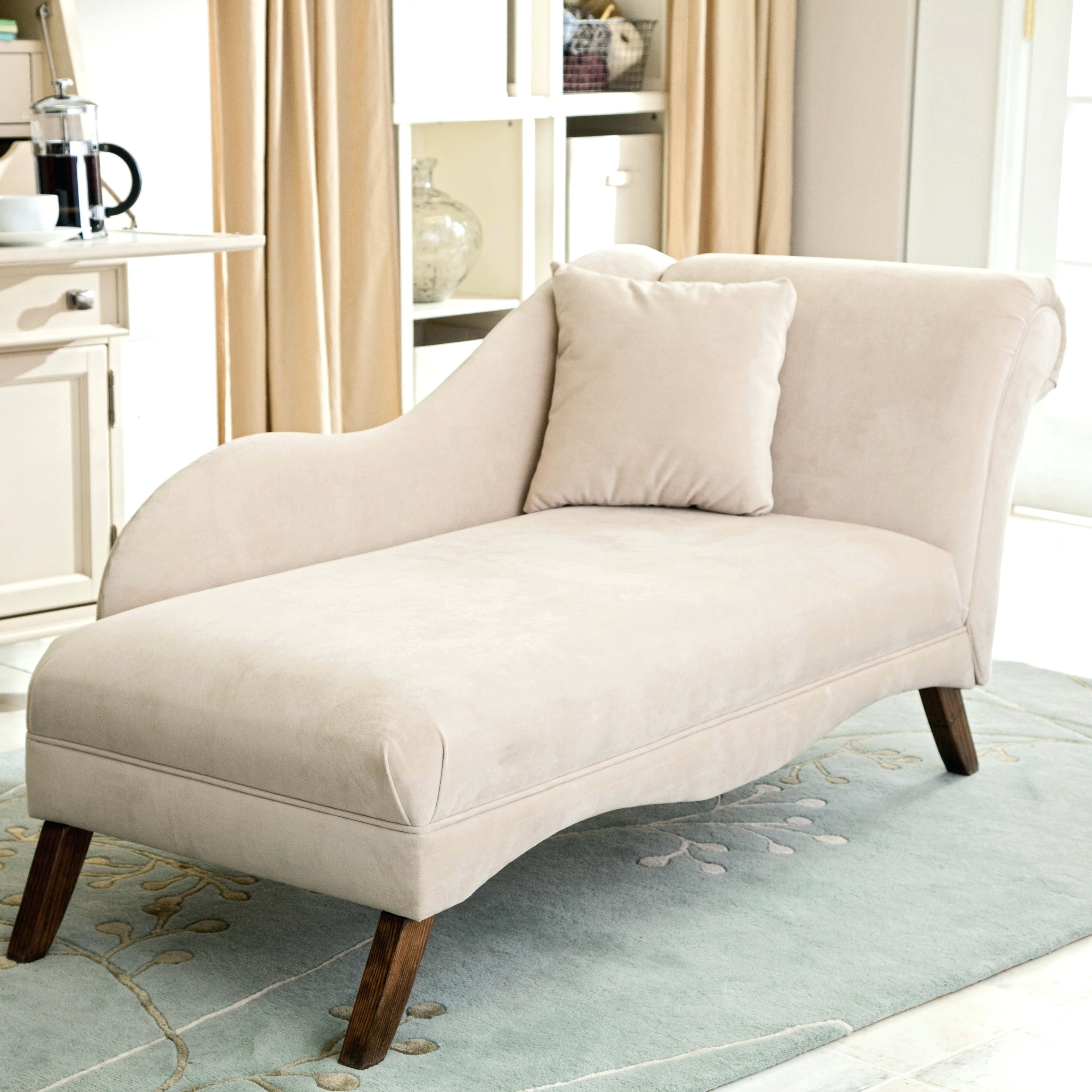 Chaise Lounge Chairs For Small Spaces Throughout Famous Small Chaise Lounge Chair For Room Incredible Chairs Bedroom Ideas (View 4 of 15)