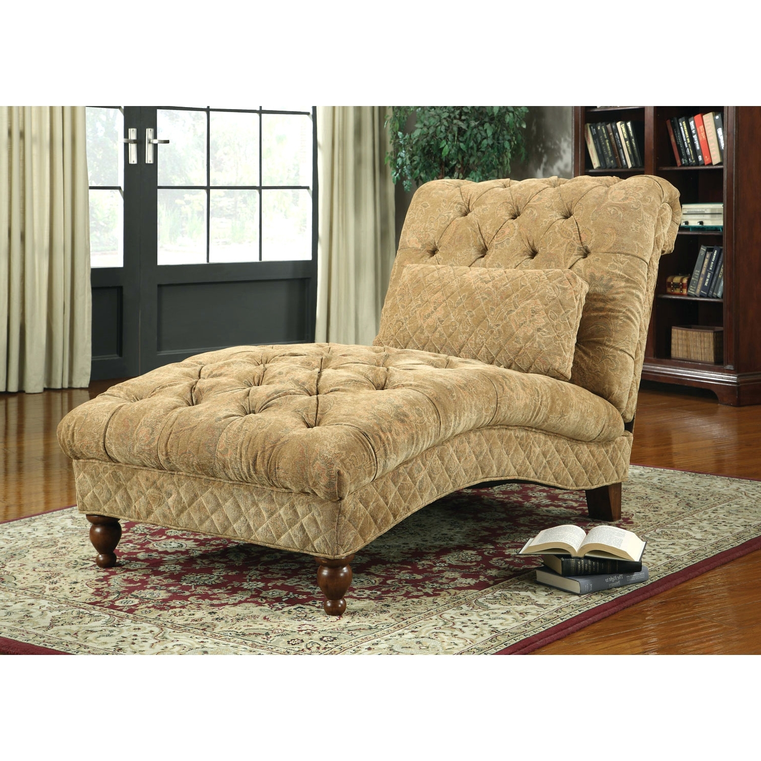 Chaise Lounge Chairs For Two With Favorite Ideas Collection Two Person Chaise About 2 Person Chaise Lounge (View 7 of 15)