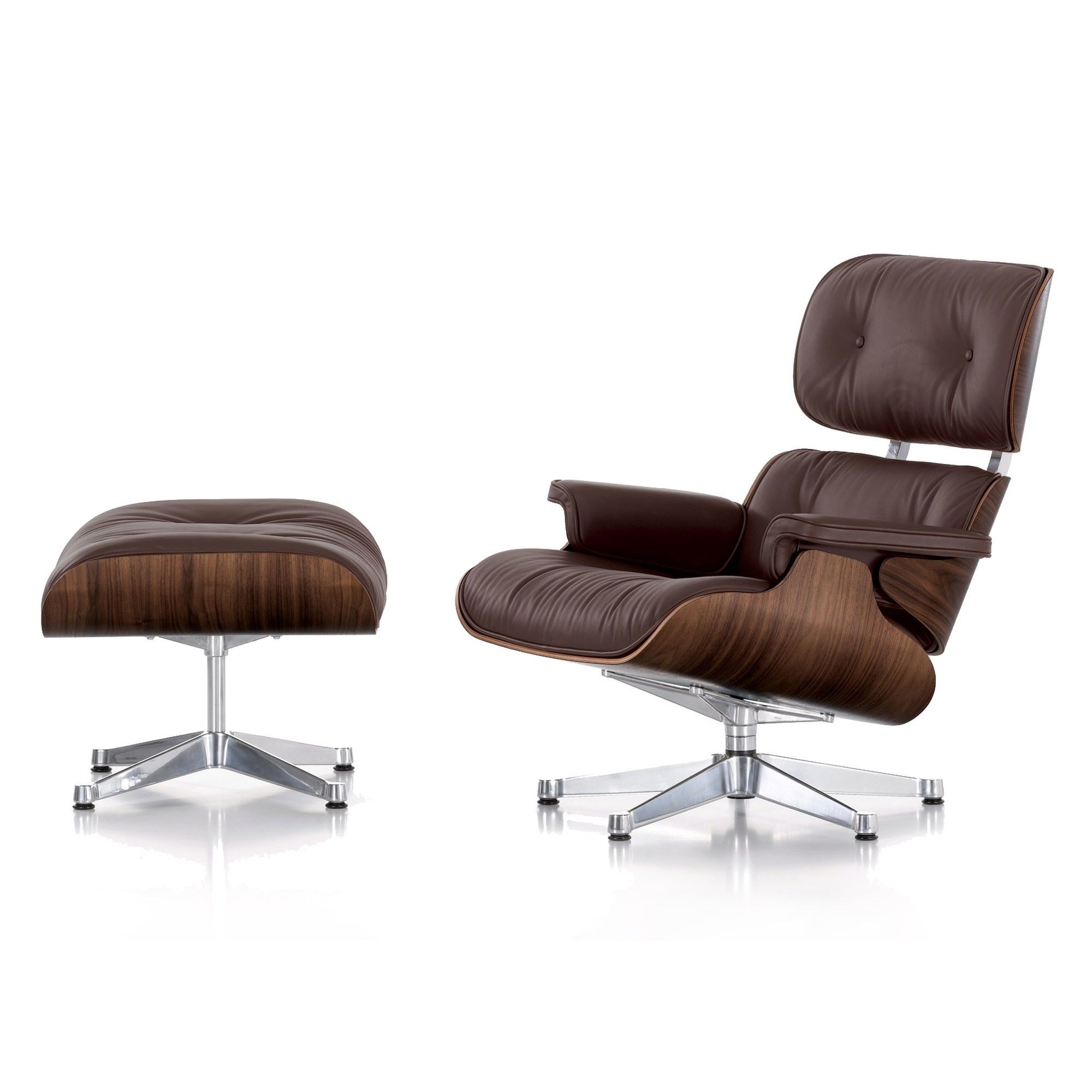 Chaise Lounge Chairs With Ottoman For Best And Newest Lounge Chair : Ottoman For Sale Eames Lounge Chair Ottoman Replica (View 10 of 15)