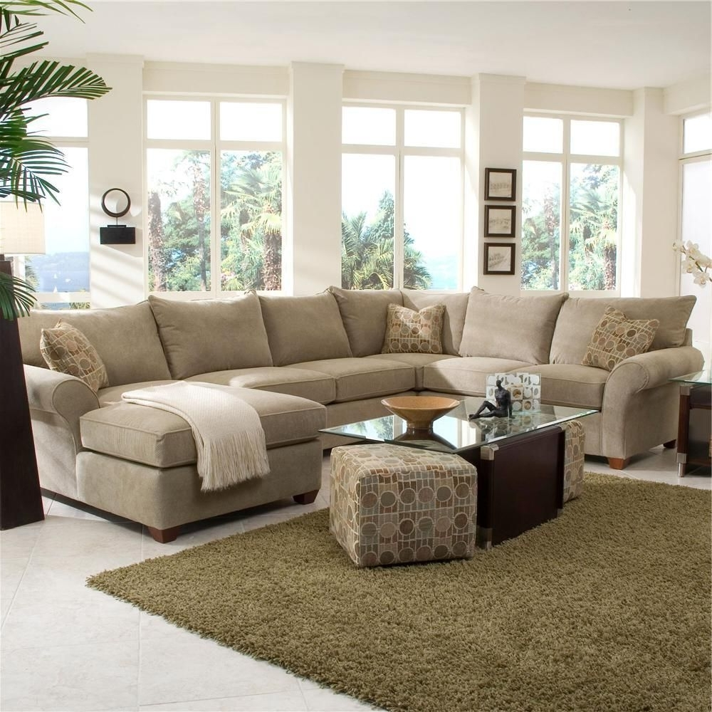 Chaise Lounge Sectional Sofas Pertaining To Recent Fletcher Spacious Sectional With Chaise Loungeklaussner – Wolf (View 4 of 15)