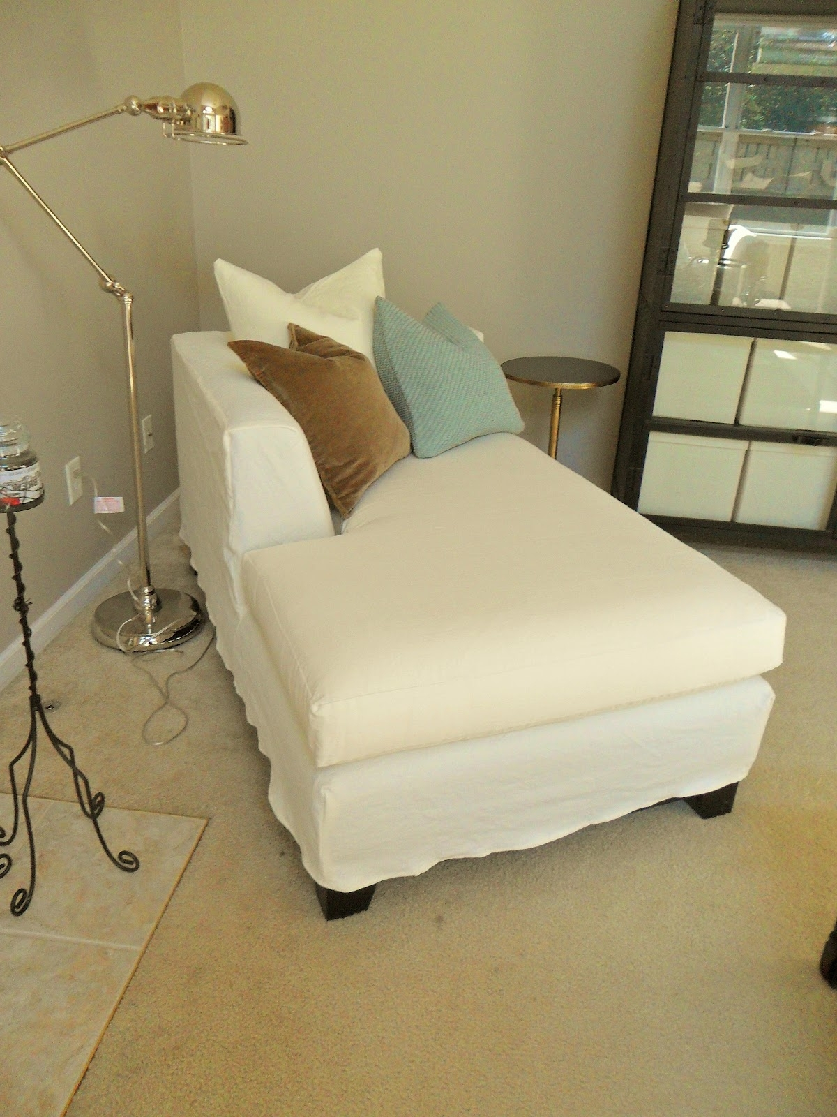 Chaise Lounge Slipcovers With Regard To Fashionable Chaise Lounge Slipcovers Images – Home Furniture Ideas (View 6 of 15)