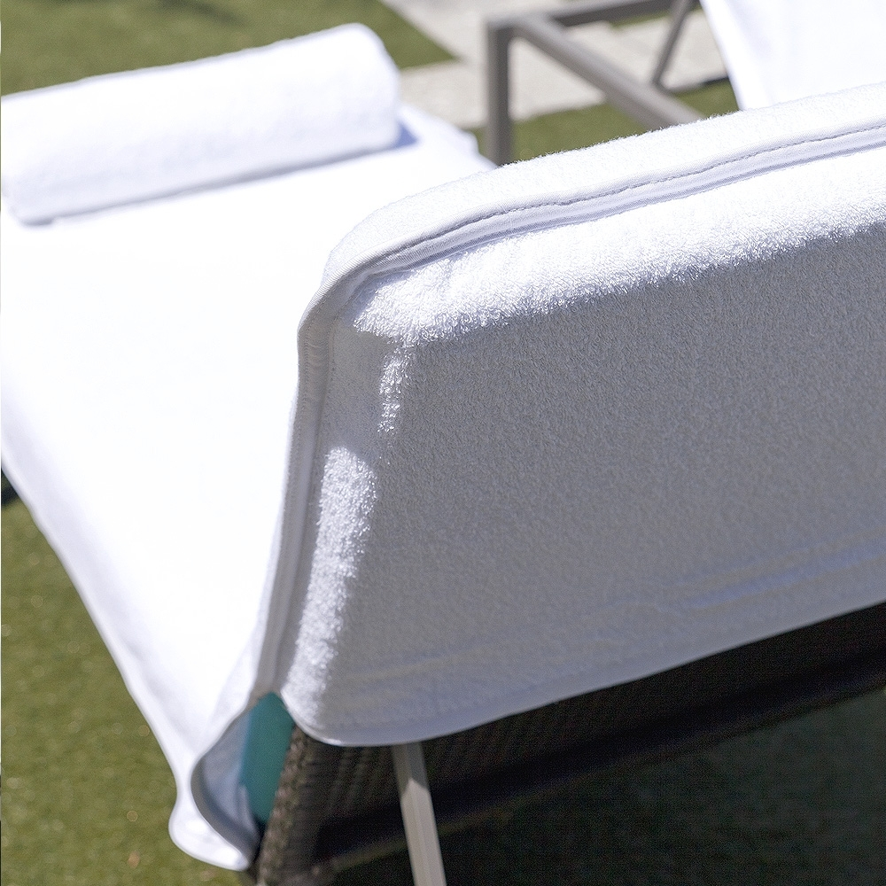 Chaise Lounge Towel Covers With Regard To Most Current Luxury Chair Covers Archives – Boca Terry (View 2 of 15)
