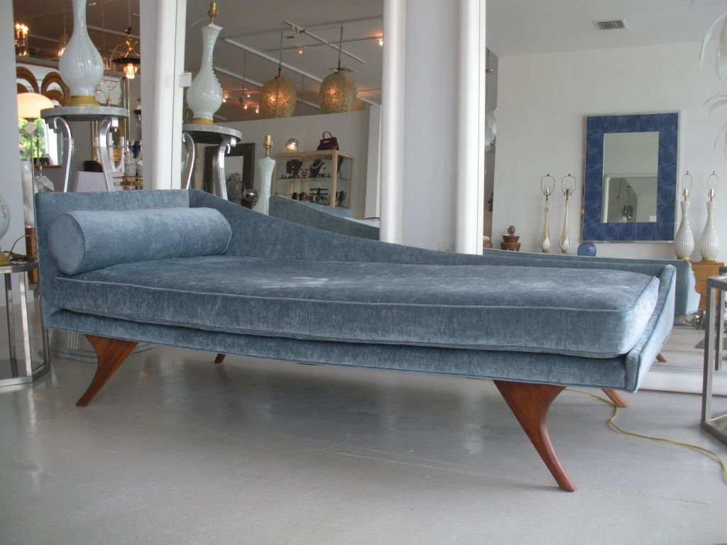 Chaise Lounges, Mid Century For Mid Century Chaises (View 10 of 15)