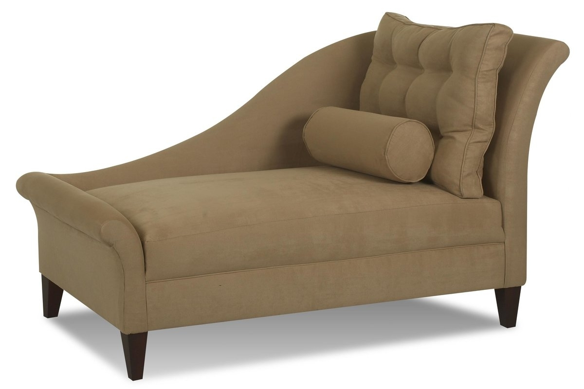 Chaise Lounges With Arms In Most Recent Klaussner Furniture Park Chaise Lounge & Reviews (View 12 of 15)