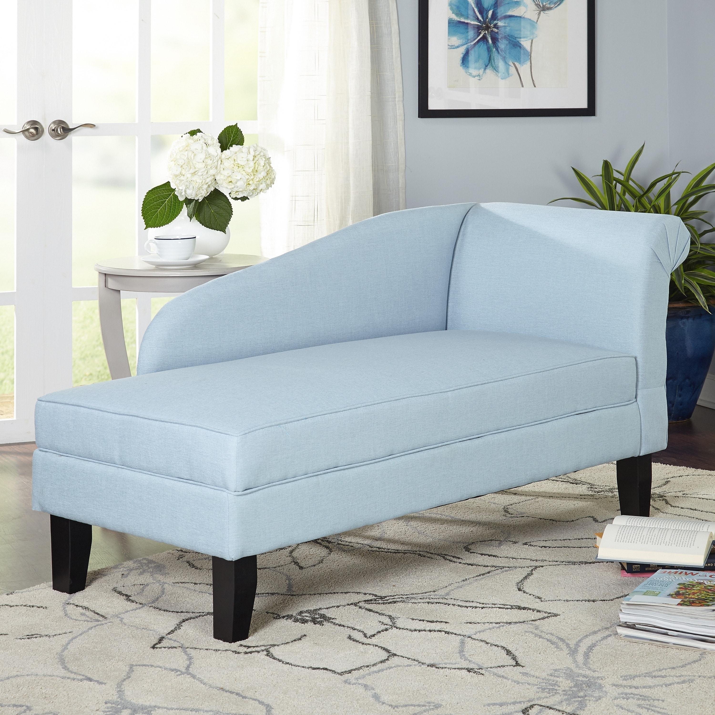 Chaise Lounges With Storage Pertaining To Most Recent Simple Living Chaise Lounge With Storage Compartment – Free (View 13 of 15)