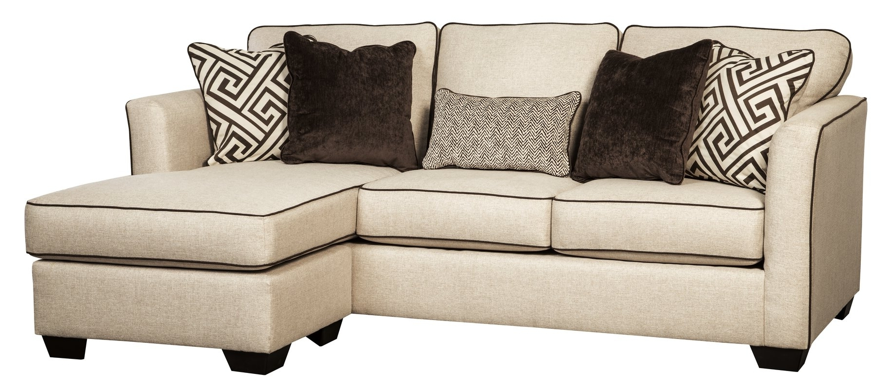 Chaise Settees Regarding Well Known Benchcraft Carlinworth Sofa Chaise & Reviews (View 7 of 15)