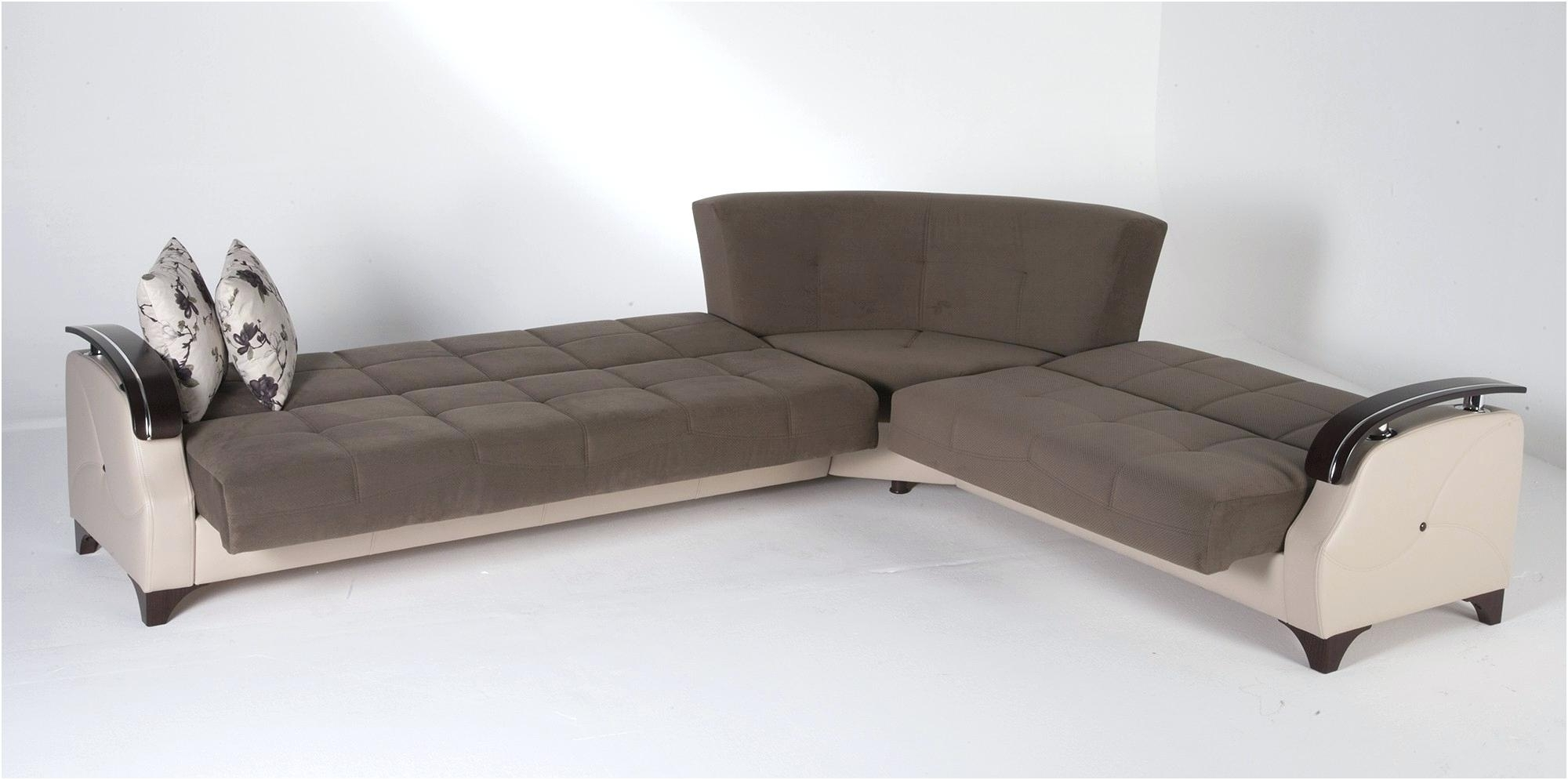 Chaise Sleepers Intended For 2017 Sectional Sofa With Sleeper Sleepers On Sale Couch Queen Kuser (View 13 of 15)