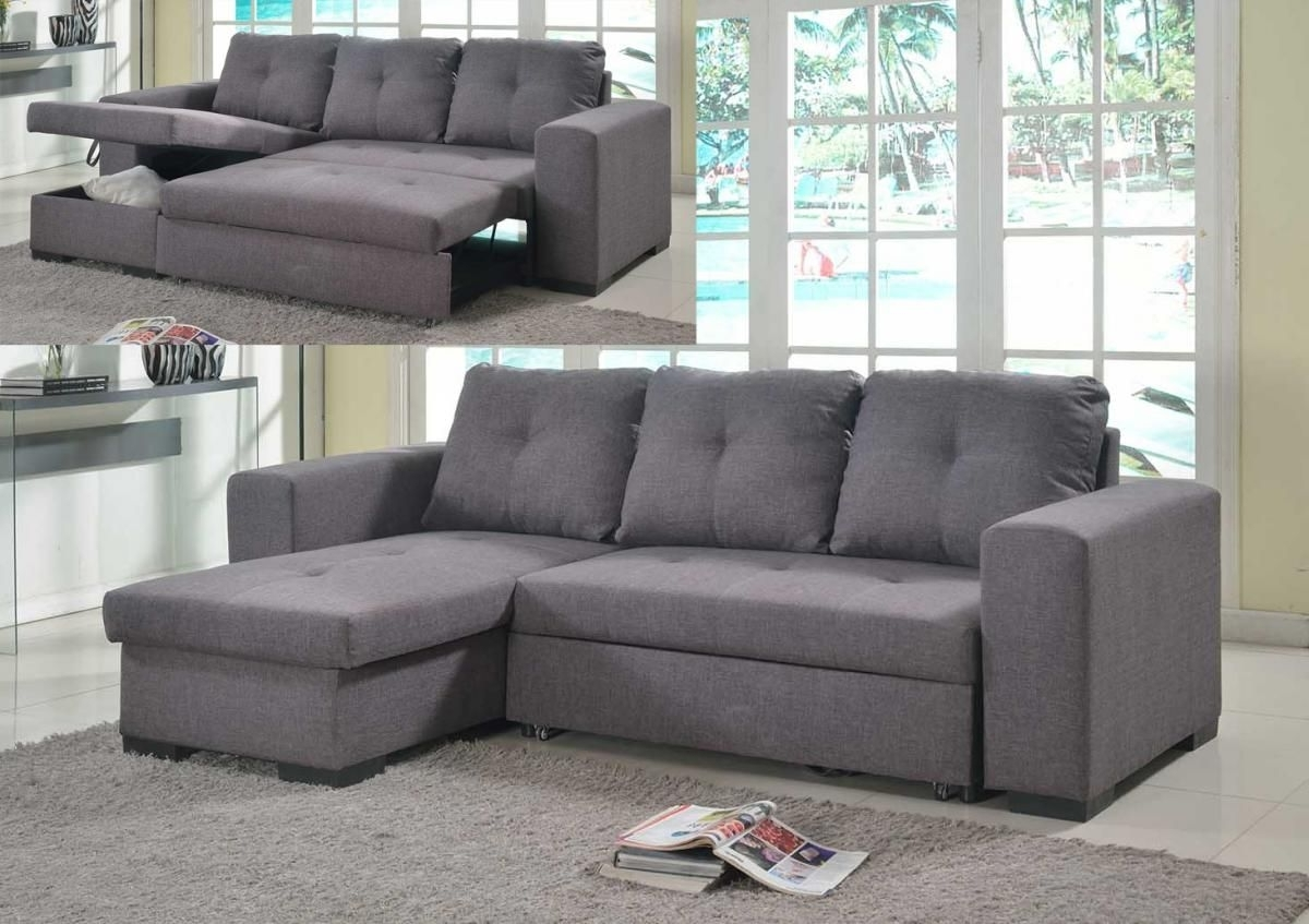 Chaise Sofa Beds With Storage In Trendy Chaise Sofa Bed With Storage Pu (View 14 of 15)