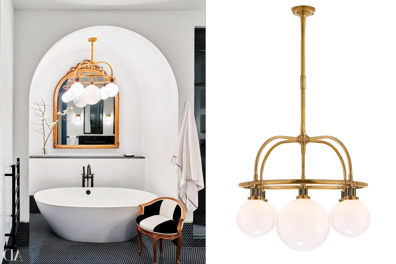 Chandelier Bathroom Lighting Fixtures For 2018 Home Decor Ideas – Bathroom Lighting Photos (View 12 of 15)