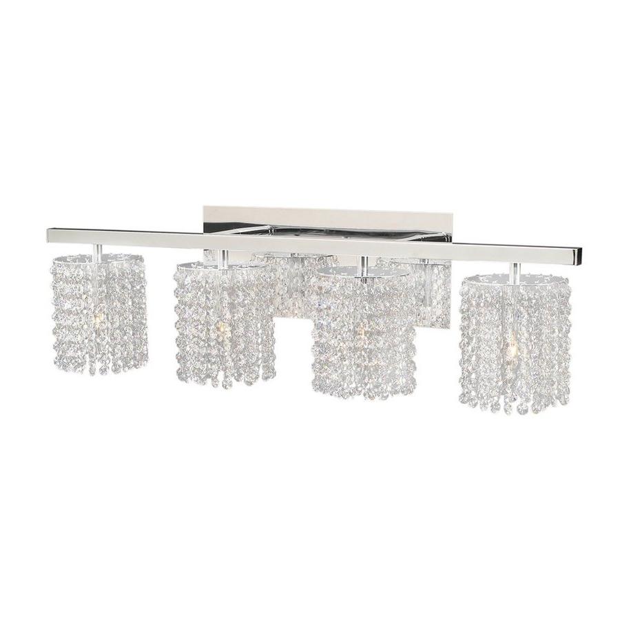 Chandelier Bathroom Lighting Fixtures Within 2017 Crystal Bathroom Light Fixtures Lighting Swarovski Sconces (View 14 of 15)