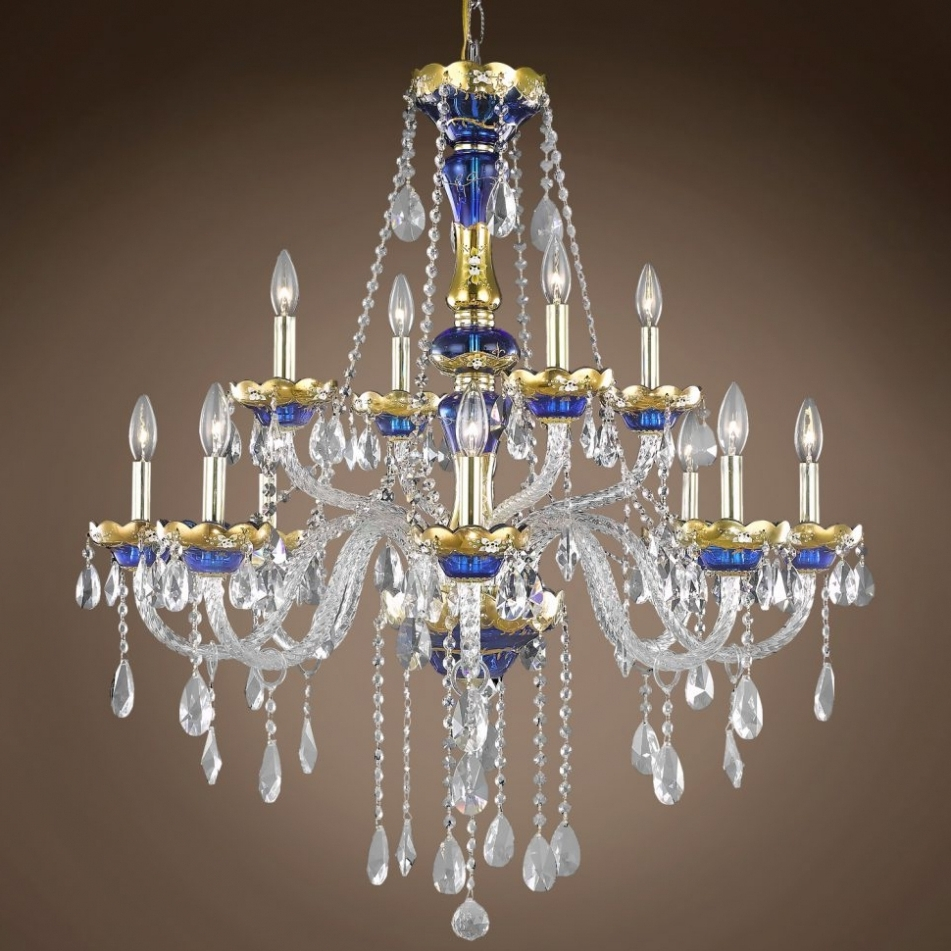 Chandelier ~ Chandelier : Bohemian Crystal Chandelier Cream In Most Up To Date Cream Crystal Chandelier (View 9 of 15)