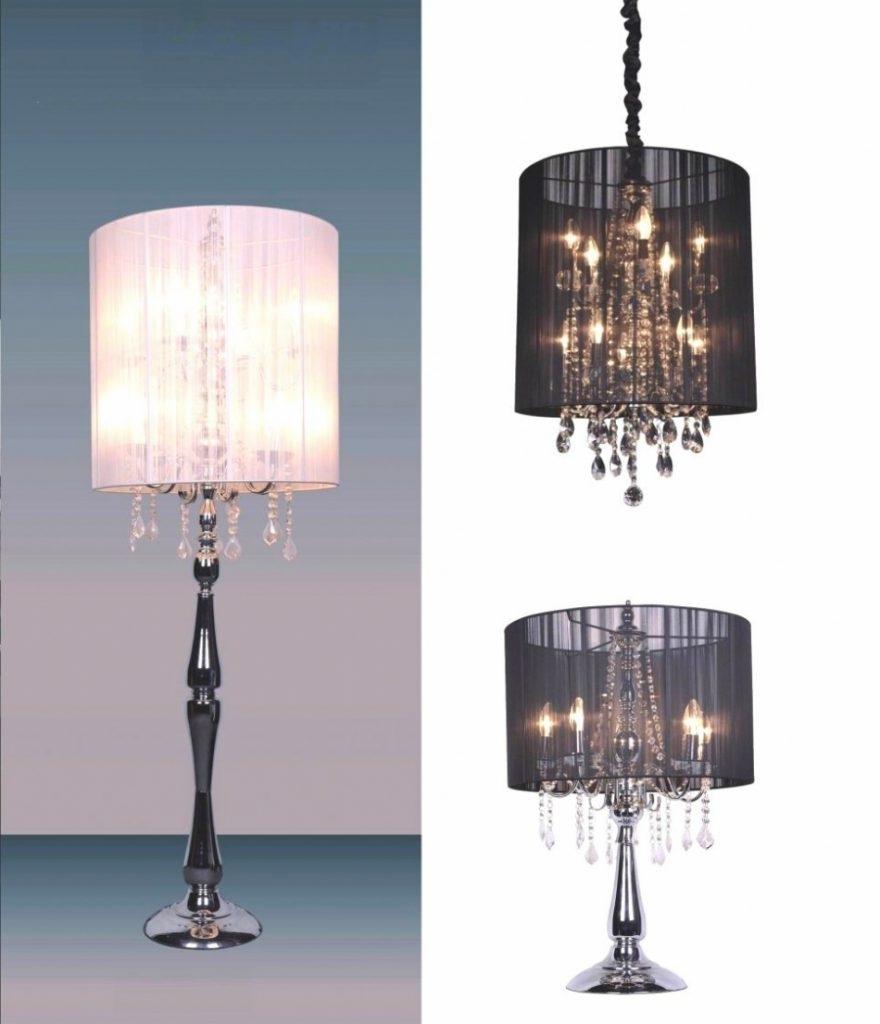 Chandelier ~ Chandeliers Design : Marvelous Floor Lamps Chandelier In Most Recent Crystal Table Chandeliers (View 3 of 15)