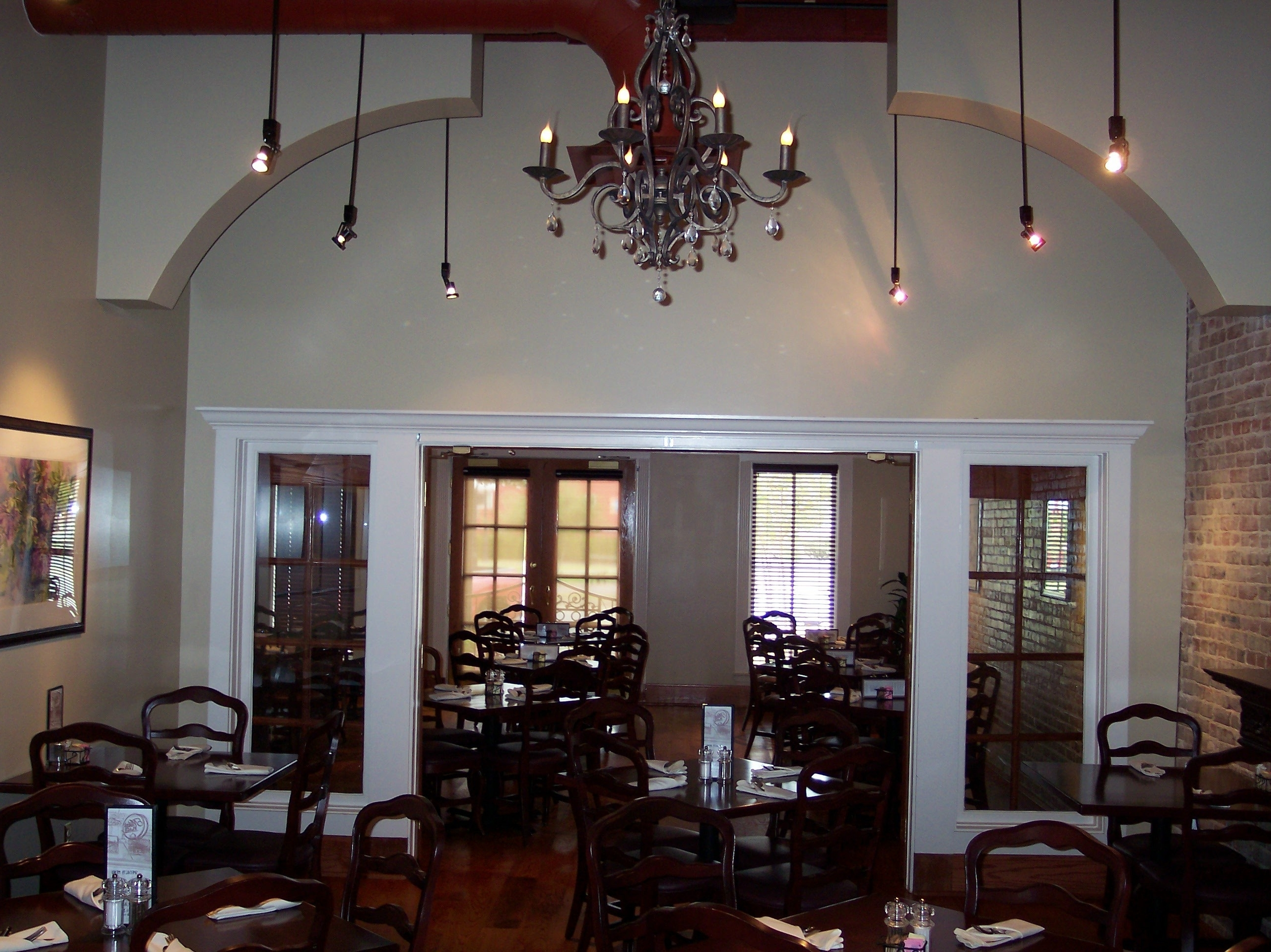Chandelier For Restaurant With Regard To Most Recently Released Light : Chandelier For Room The Mike S Place Restaurant Conway (View 4 of 15)