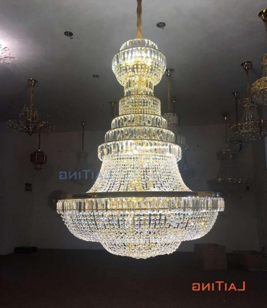 Chandelier ~ Grand Ballroom Chandeliers High Ceiling Lighting Regarding Widely Used Ballroom Chandeliers (View 10 of 15)