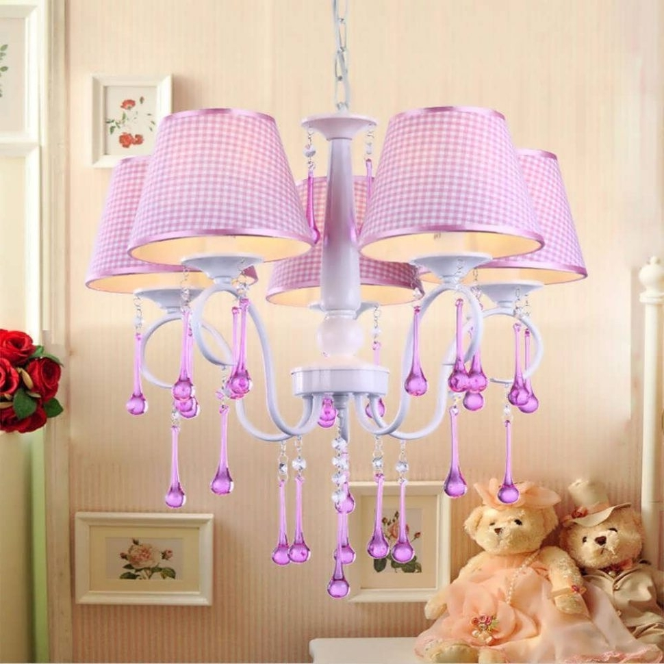 Chandelier : Kids Ceiling Lights Baby Girl Lamps Affordable Inside Recent Cheap Chandeliers For Baby Girl Room (View 11 of 15)