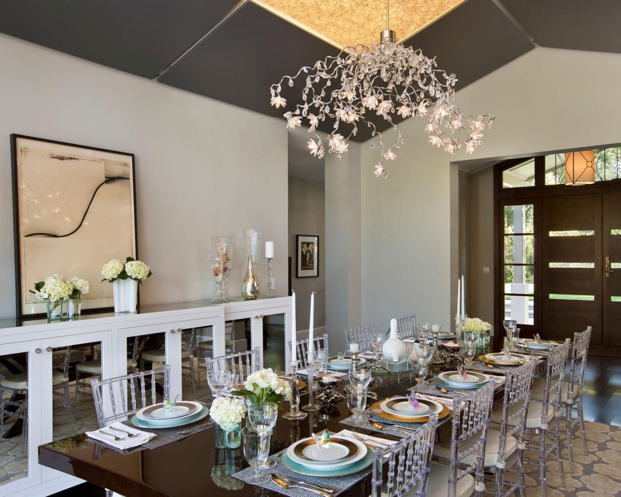 Chandelier Lights For Living Room Throughout Famous Lighting Tips For Every Room (View 2 of 15)