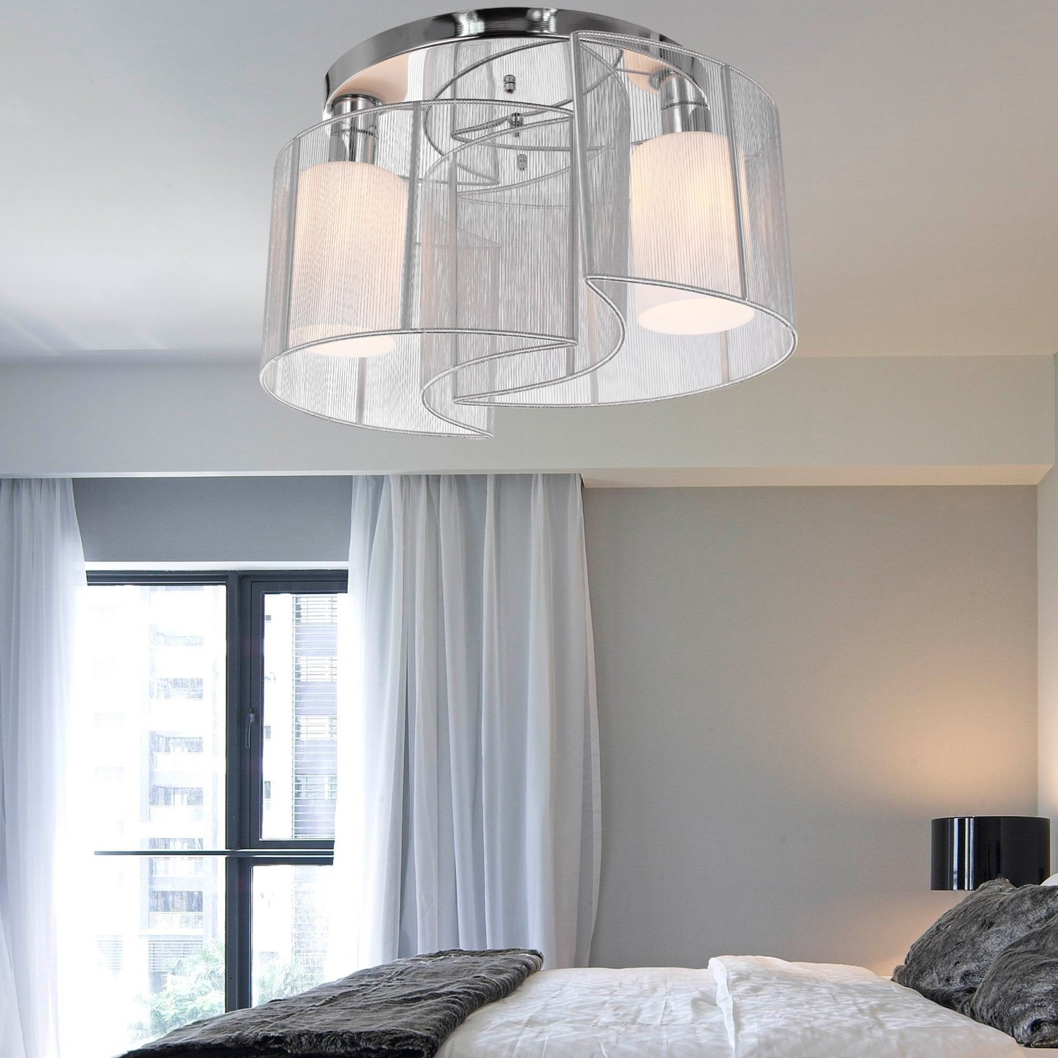 Chandelier Night Stand Lamps For Favorite Light Fixture : Night Stand Lamps Master Bedroom Ceiling Ideas (View 3 of 15)