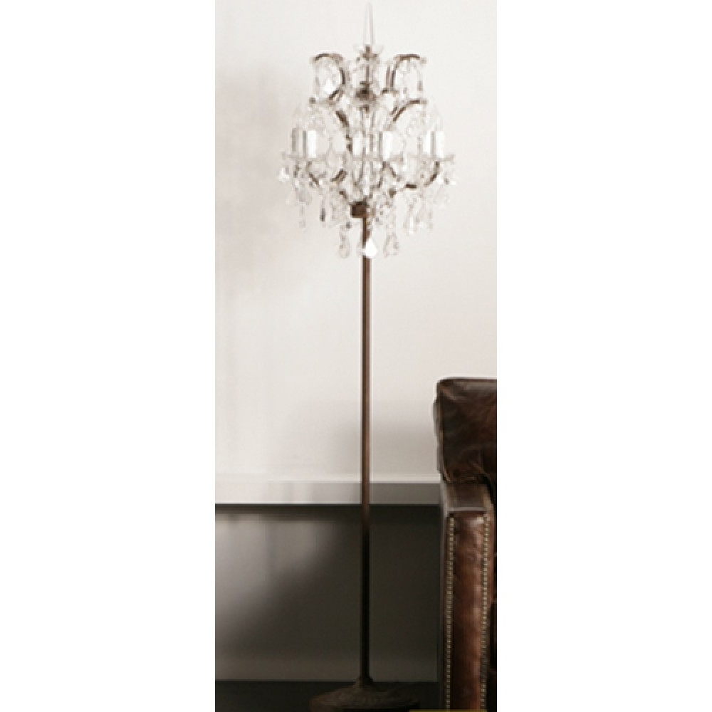 Chandelier Standing Lamps For Most Recent Exclusive Chandelier Floor Lamps Deals Inside Standing Lamp Plans  (View 4 of 15)