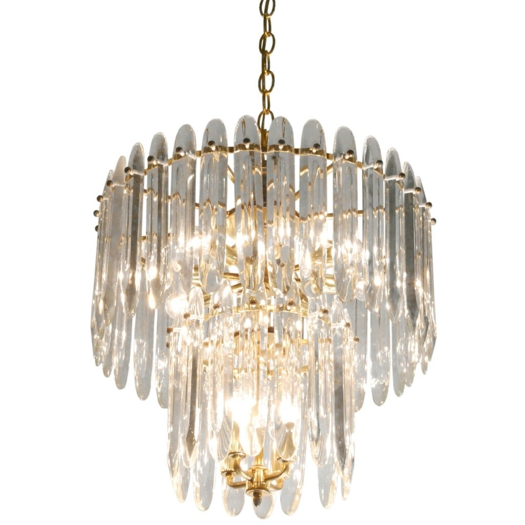 Chandelier With Large Crystalssciolari For Sale At 1Stdibs In Latest Big Crystal Chandelier (View 3 of 15)