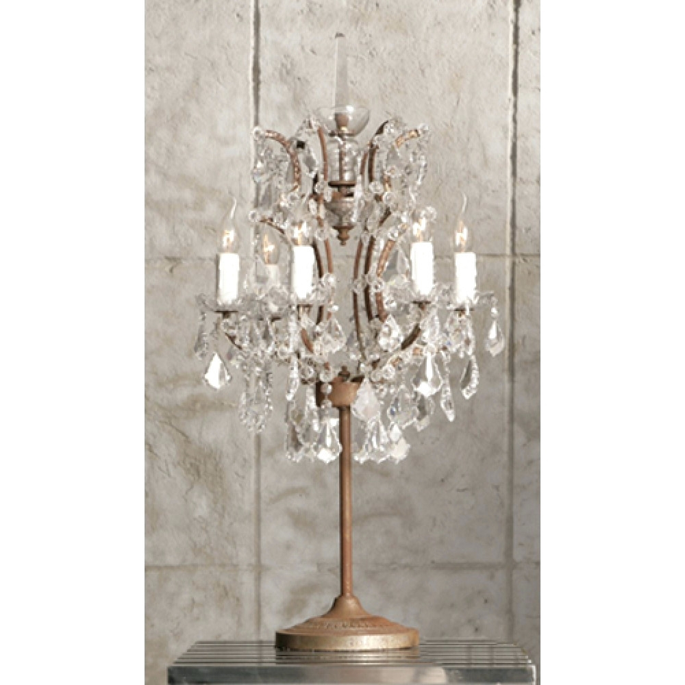 Chandeliers ~ Chandelier Bedside Lamp Chandelier Nightstand Lamp In Latest Chandelier Night Stand Lamps (View 2 of 15)