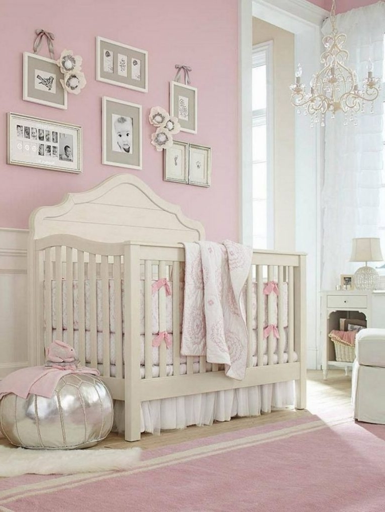 Chandeliers For Baby Girl Room For Most Popular Chandelier ~ Chandelier : Girls Room Cheap White Chandelier Nursery (View 5 of 15)