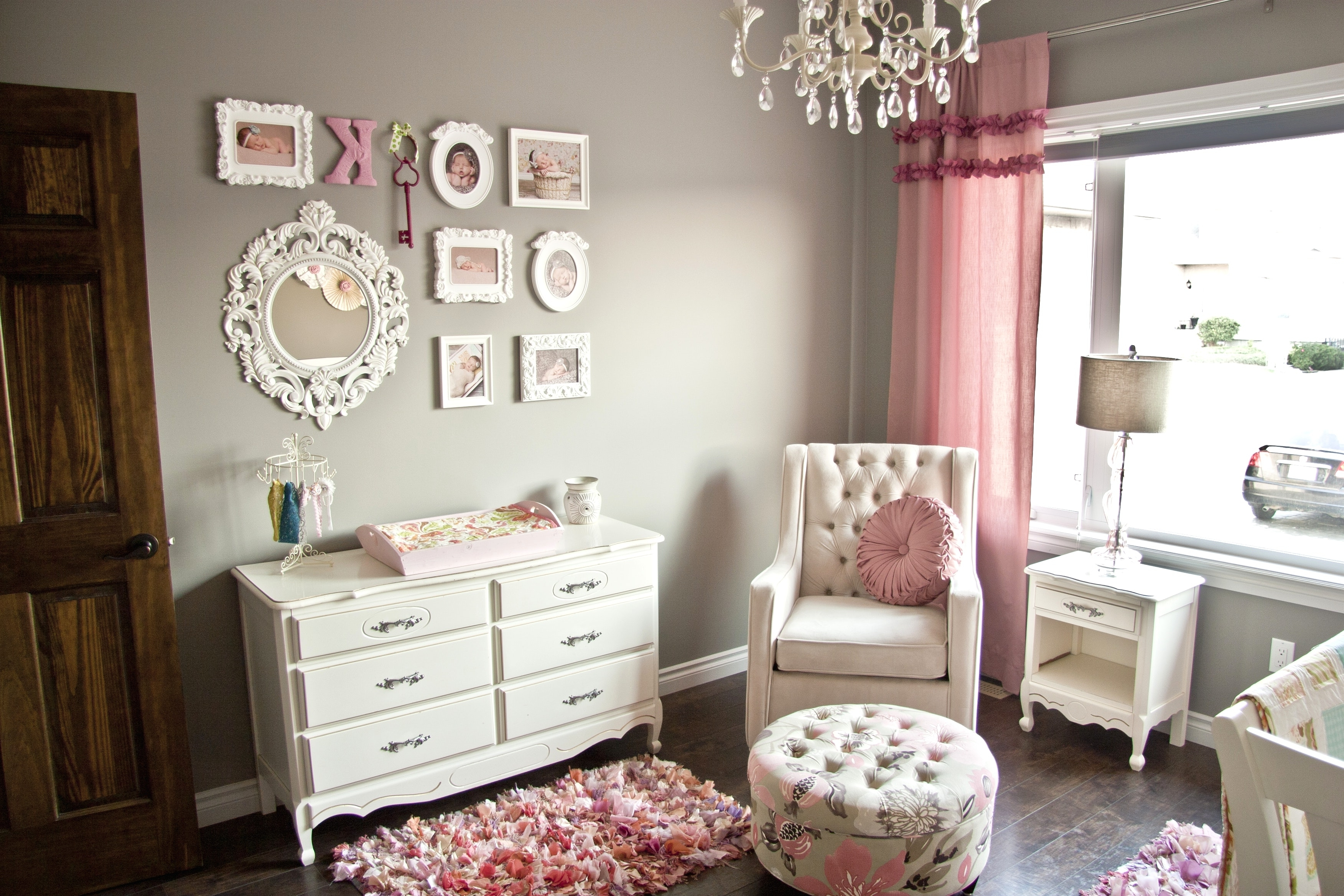 Chandeliers For Baby Girl Room In Recent Chandeliers Design : Amazing Baby Girl Room Chandelier With Kid (View 8 of 15)