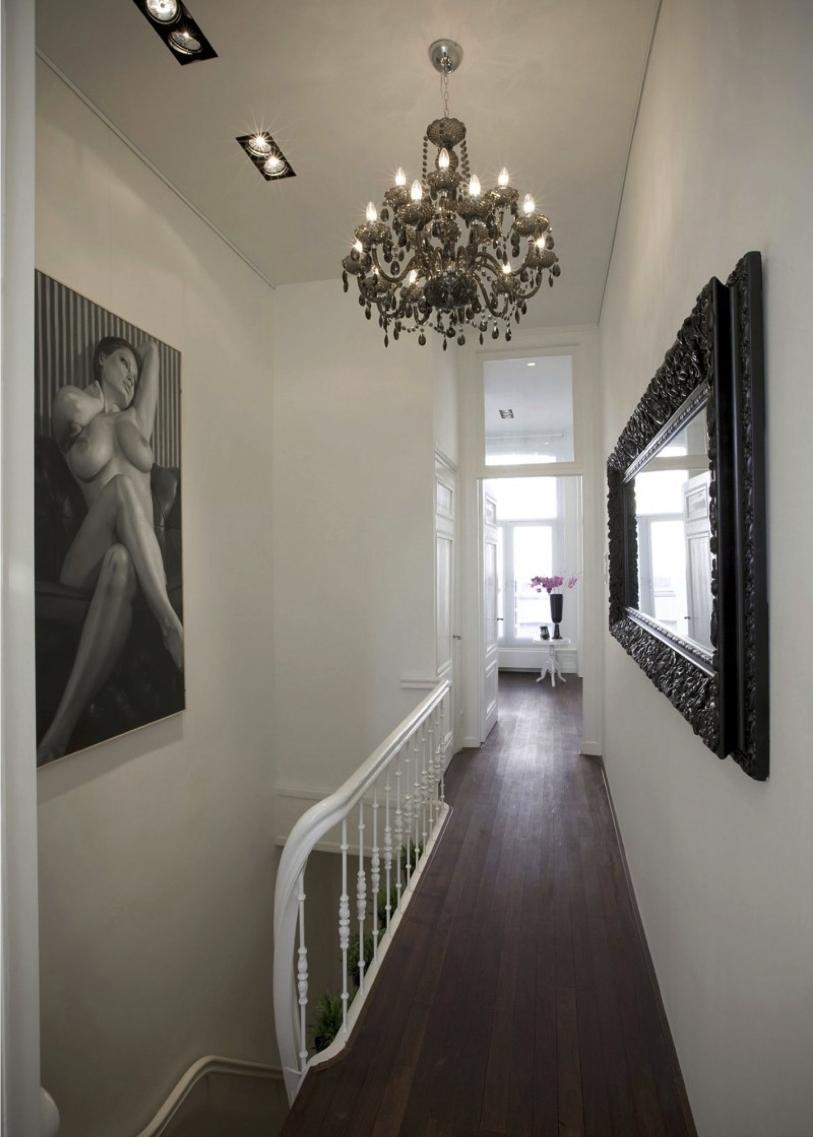 Chandeliers For Hallways In Most Up To Date Hallway Chandelier In Home Decor Ideas With Hallway Chandelier Home (View 3 of 15)