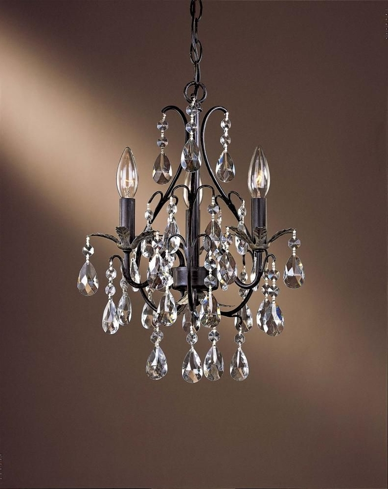 Chandeliers For Hallways With Regard To Most Up To Date Perfect For Small Spaces, Including Hallways And Bathrooms (View 3 of 15)