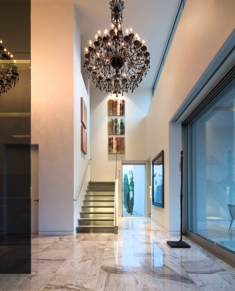 Chandeliers For Hallways With Regard To Recent Chandeliers : Modern Hallway Chandeliers Ideas Best Photo Design (View 2 of 15)