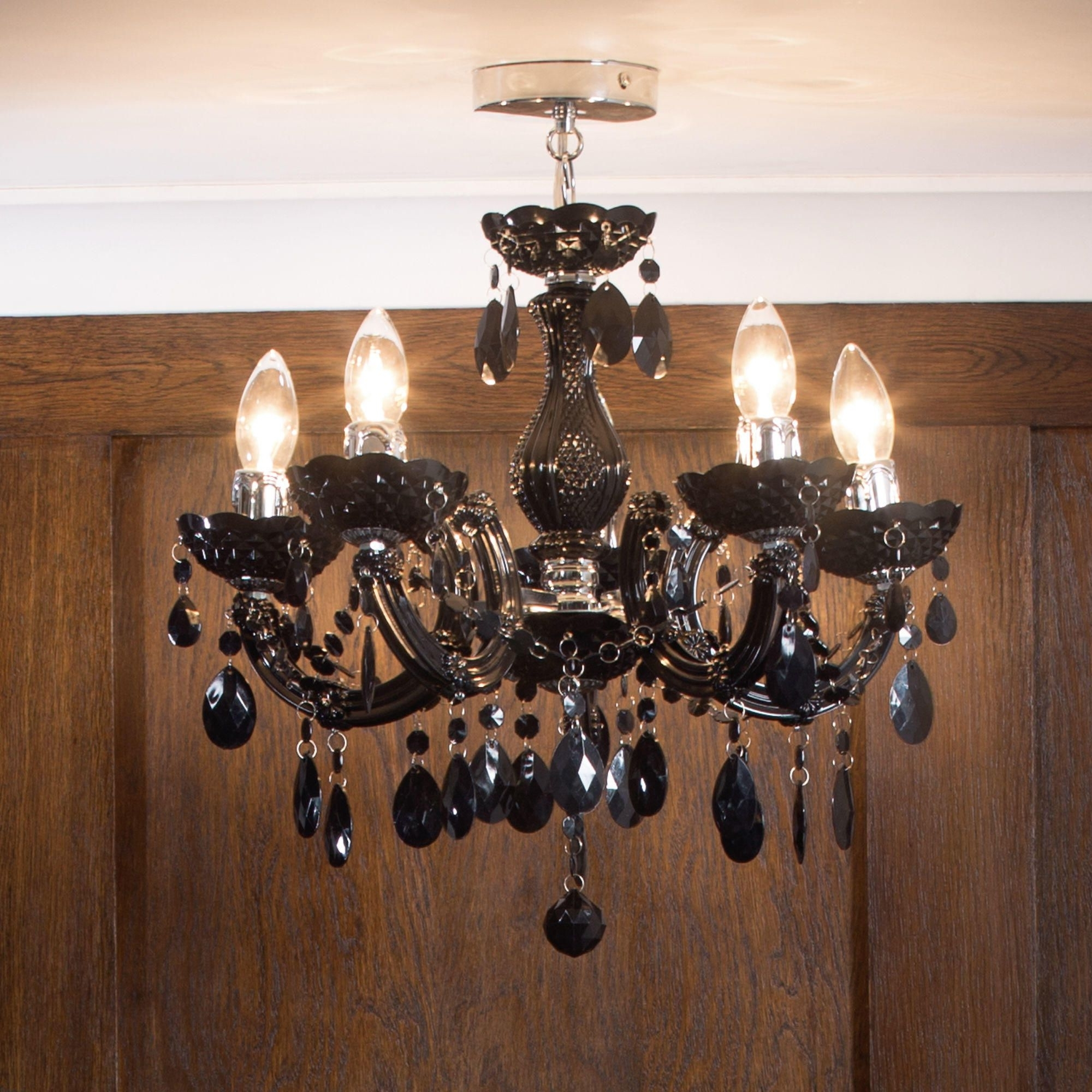 Chandeliers For Low Ceilings Pertaining To Favorite Chandeliers For Low Ceilings – Litecraft (View 3 of 15)