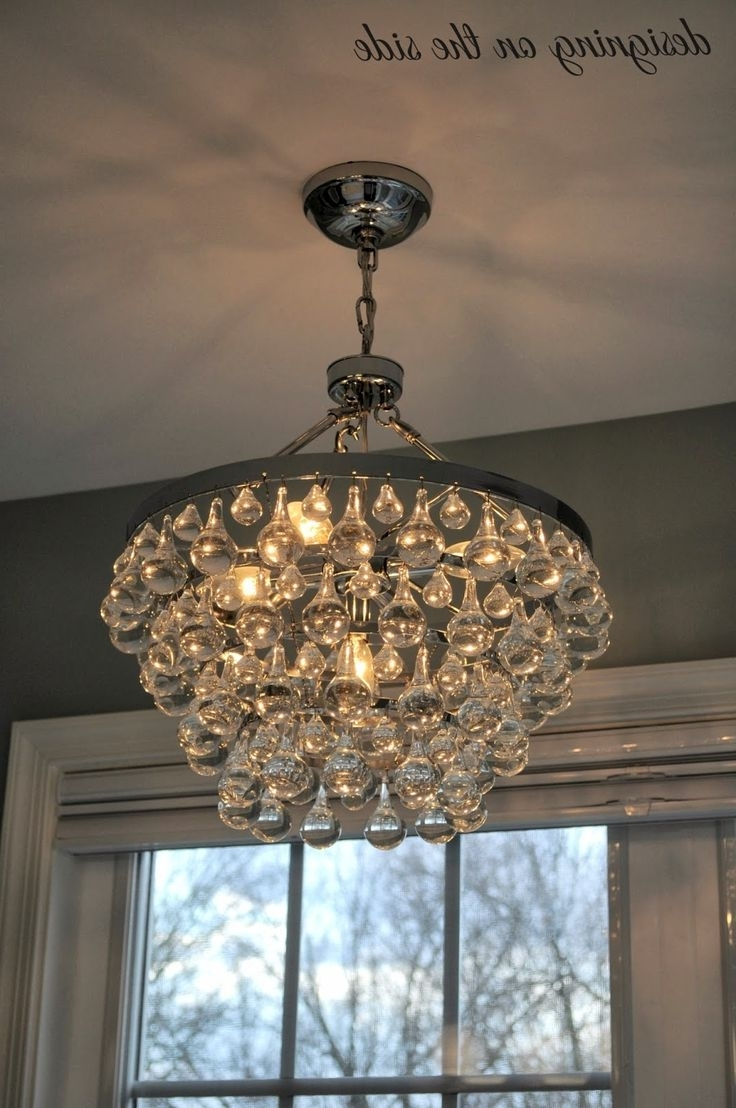 Chandeliers In Most Recent Crystal Chandelier Bathroom Lighting (View 3 of 15)