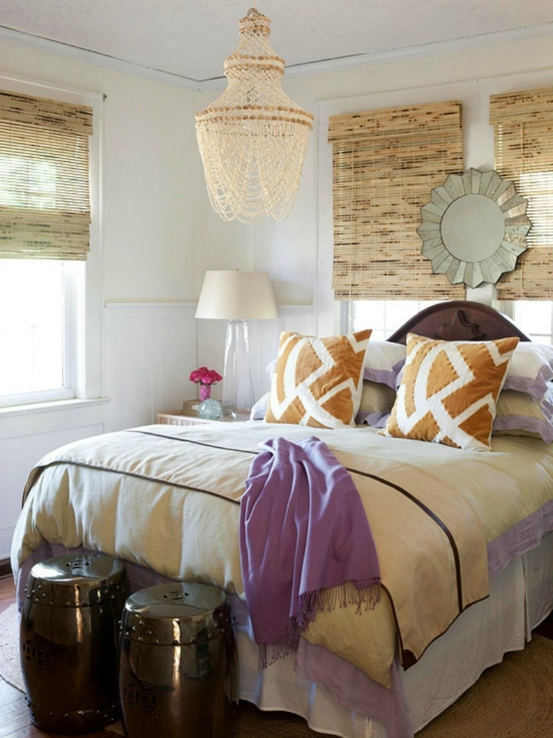 Chandeliers In The Bedroom Intended For Well Known 10 Ways: To Use Coastal Chandeliers In Places Other Than The Dining Room (View 6 of 15)