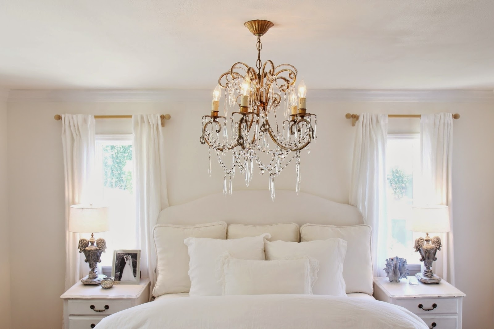 Chandeliers In The Bedroom With Regard To Fashionable Nora's Nest: A Chandelier For The Master Bedroom (View 9 of 15)