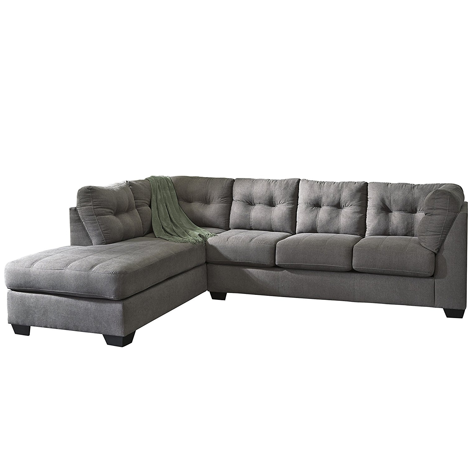 Charcoal Sectionals With Chaise In Most Recently Released Amazon: Flash Furniture Benchcraft Maier Sectional With Right (View 8 of 15)