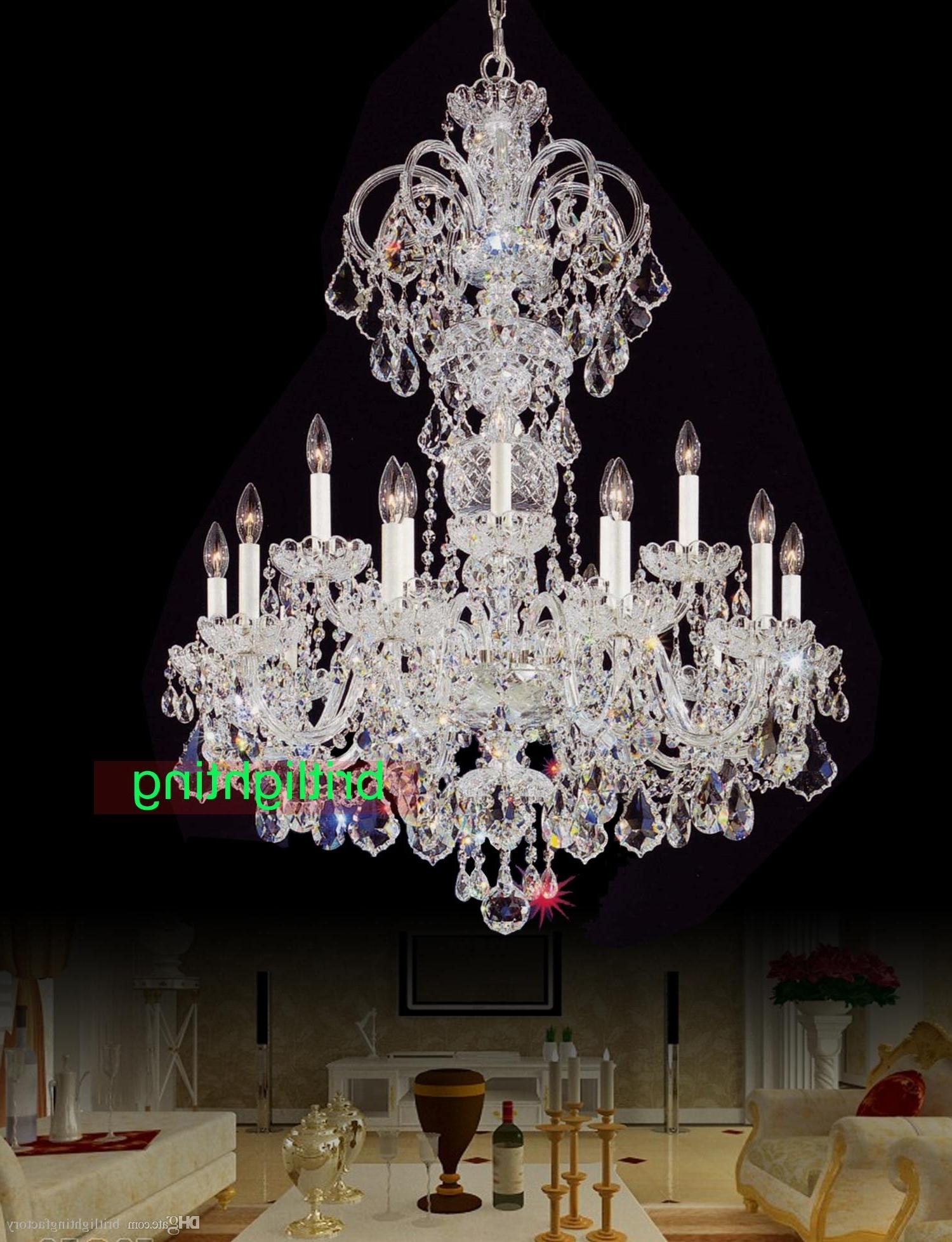 Cheap Big Chandeliers In Popular Modern Big Chandelier Lamps European Candle Chandeliers Versailles (View 3 of 15)