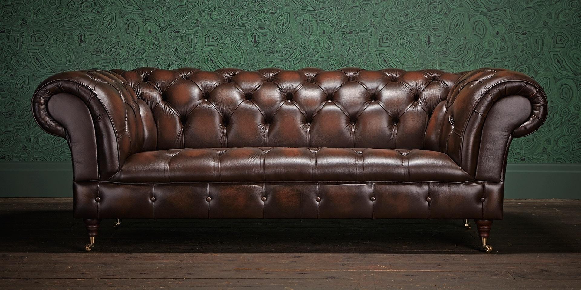 Chesterfield Sofa, Chesterfield And Chesterfield Furniture Within Chesterfield Sofas And Chairs (View 10 of 15)