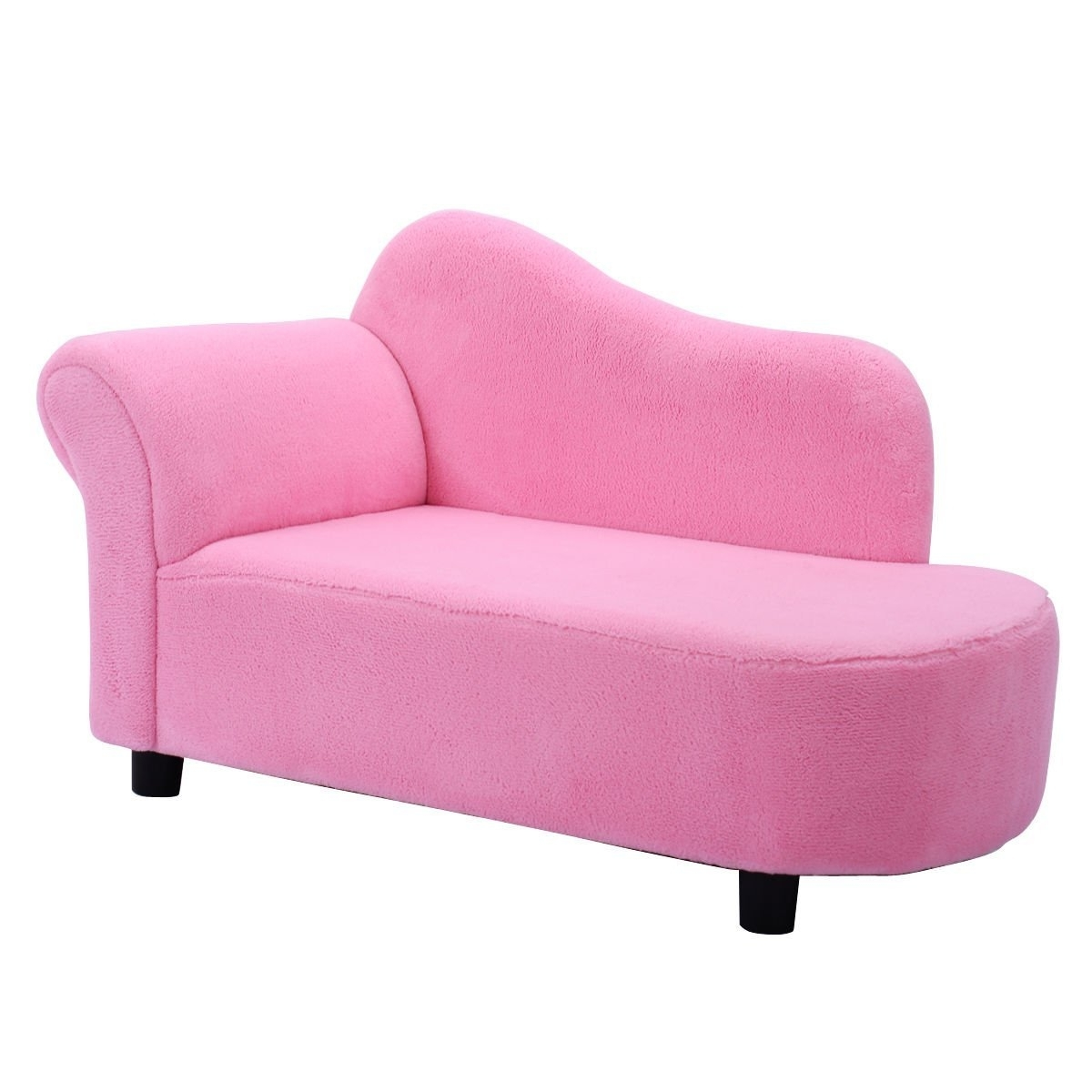 Children's Chaise Lounges Pertaining To Latest Amazon: Costzon Kids Chaise Lounge Sofa Couch Set Children (View 3 of 15)