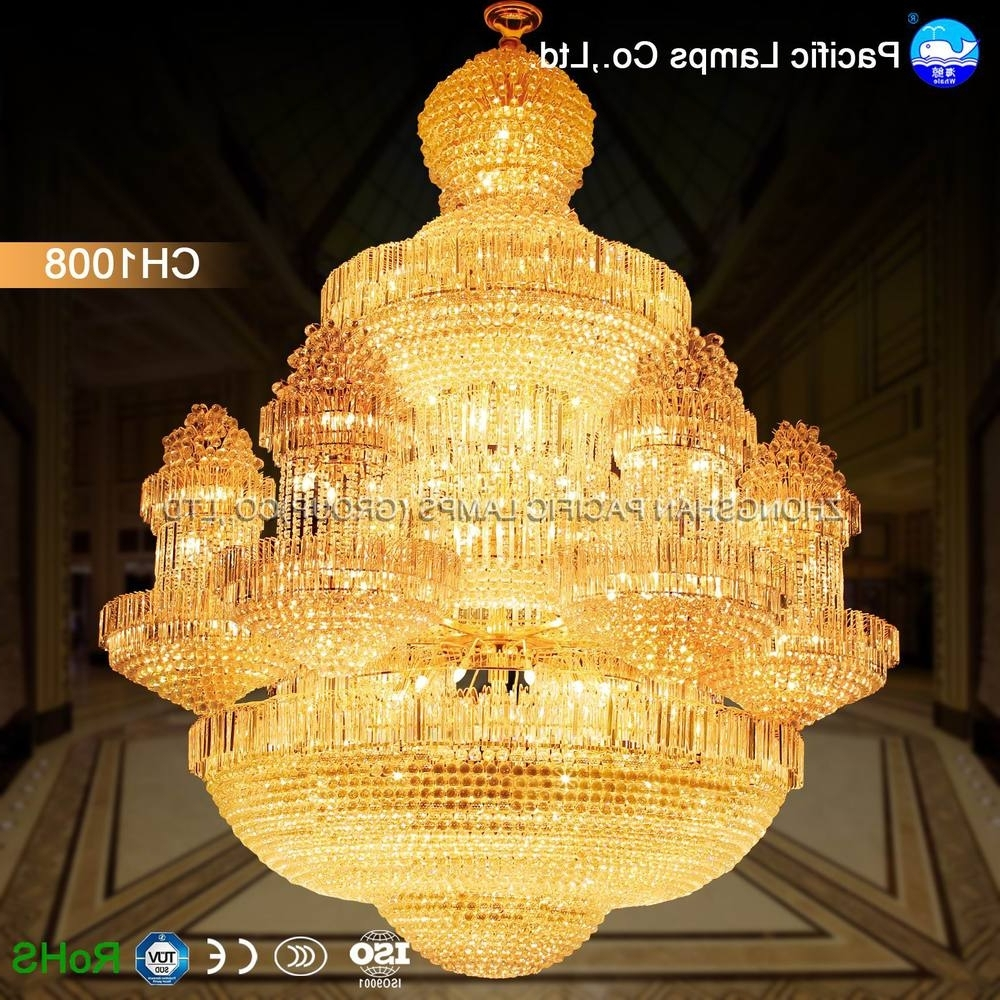 Chinese Chandelier Intended For Famous 2018 Chinese Luxury Lamp Big Chandelier For Hotel, View Big (View 3 of 15)