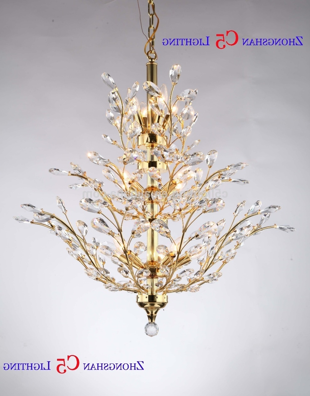 Chinese Chandeliers Pertaining To Famous Crystal Chandeliers Made In China, Crystal Chandeliers Made In China (View 8 of 15)