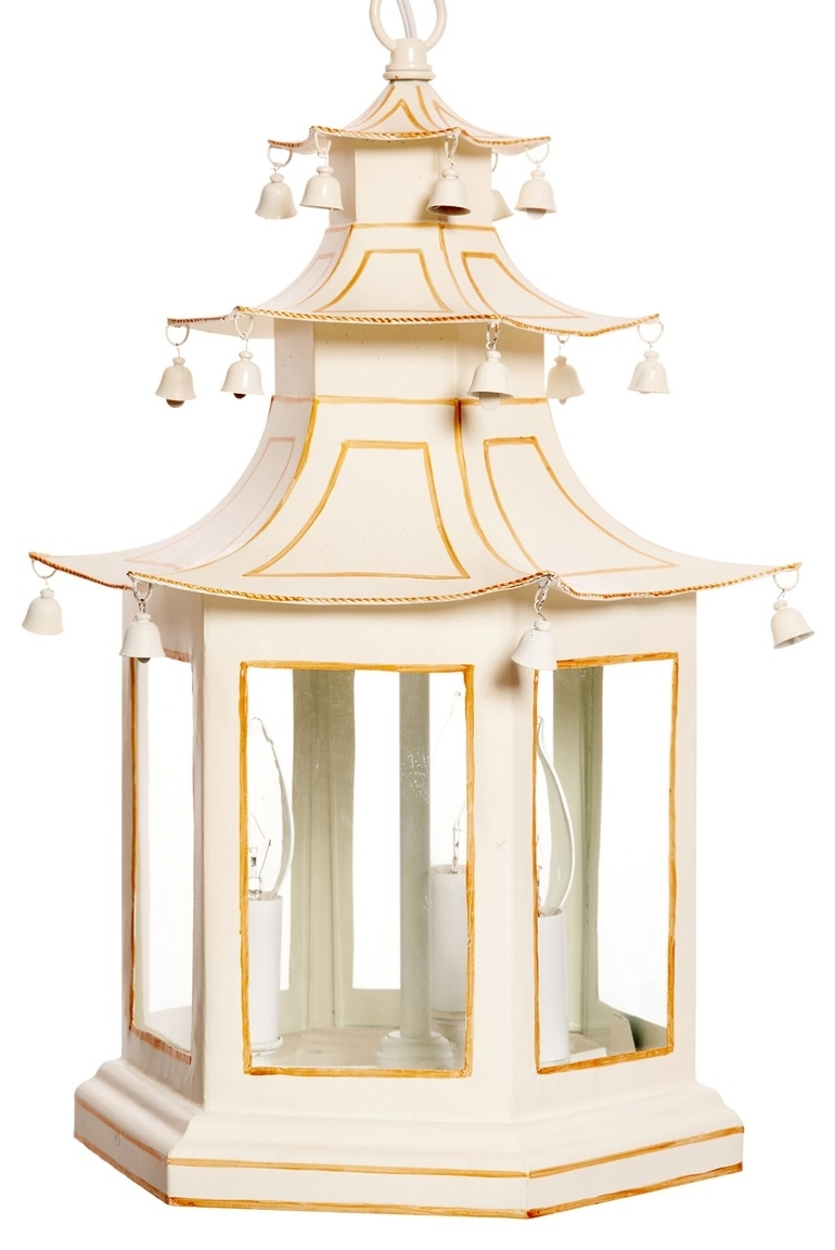 Chinoiserie Chandeliers In Well Known Pagoda Lantern – Chinoiserie Chandeliers – Dering Hall (View 3 of 15)