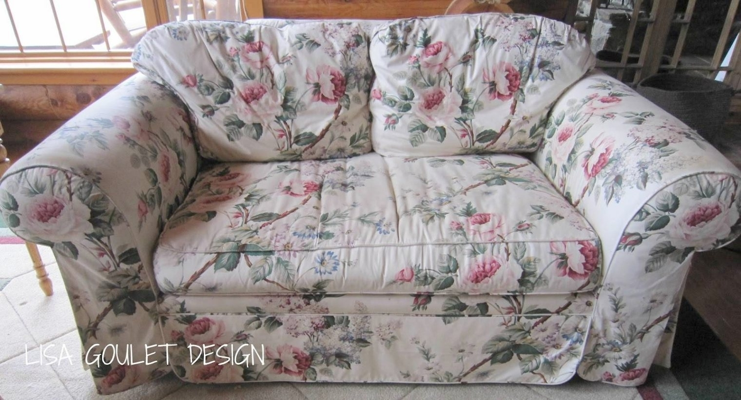 Chintz Covered Sofas Regarding Latest Chintz Sofa – Gallery Image Serenityrealm Throughout Chintz (View 1 of 15)