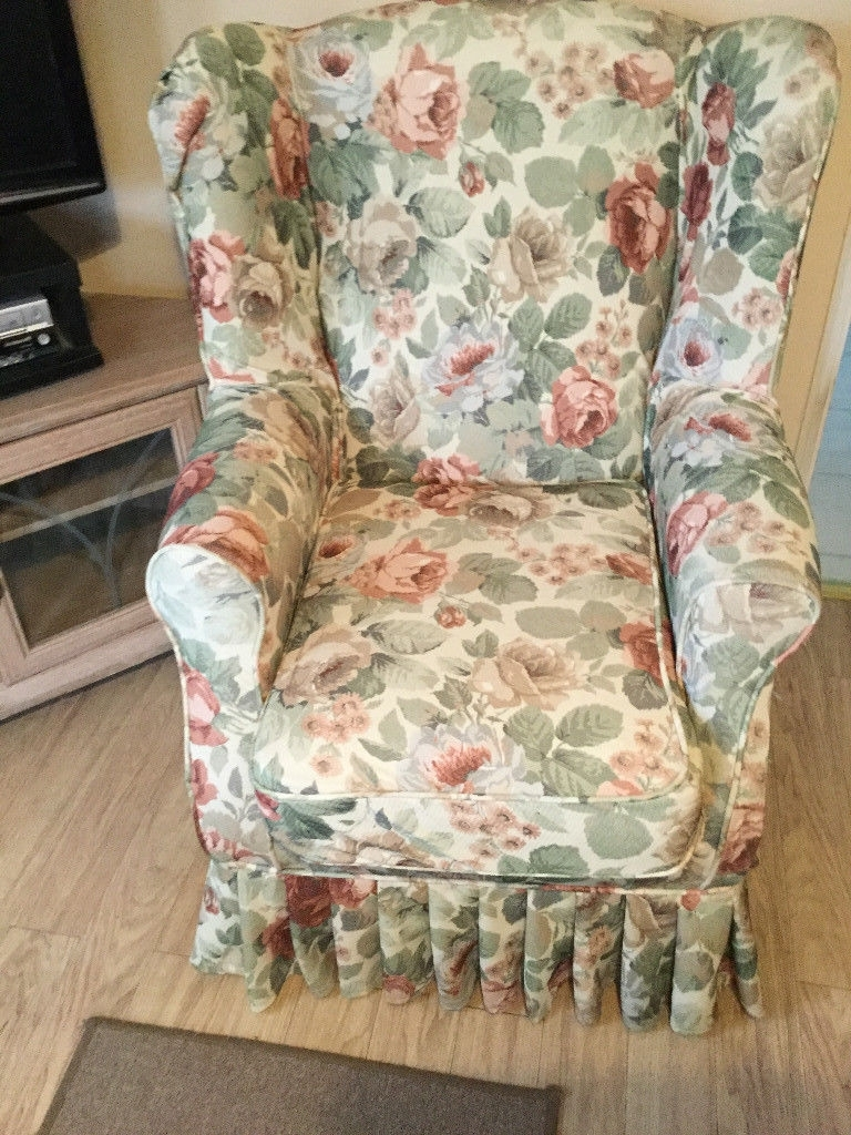Chintz Fabric Sofas In Fashionable Armchair : Chintz Drapes Chintz Fabricthe Yard Chintz Fabric (View 6 of 15)