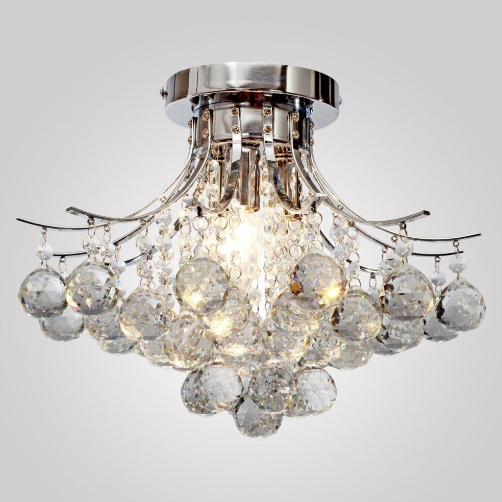 Chrome Chandeliers Within Favorite Chrome Chandeliers & Pendant Lighting (View 7 of 15)