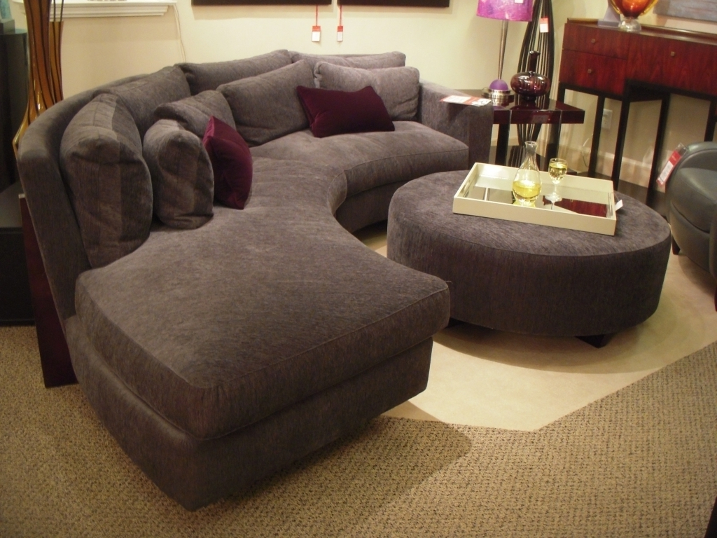 Circular Sectional Sofas Intended For Most Popular Round Sectional Sofa Cushion — Home Ideas Collection : Vs (View 10 of 15)