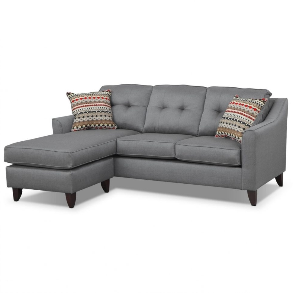 Clarksville Tn Sectional Sofas Pertaining To Trendy Sofa : Divani Casa Evora Modern Taupe Leather Sofaair Set And (View 3 of 15)